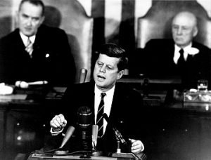 John F. Kennedy gave America his vision