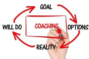A coach will advise you on what to do