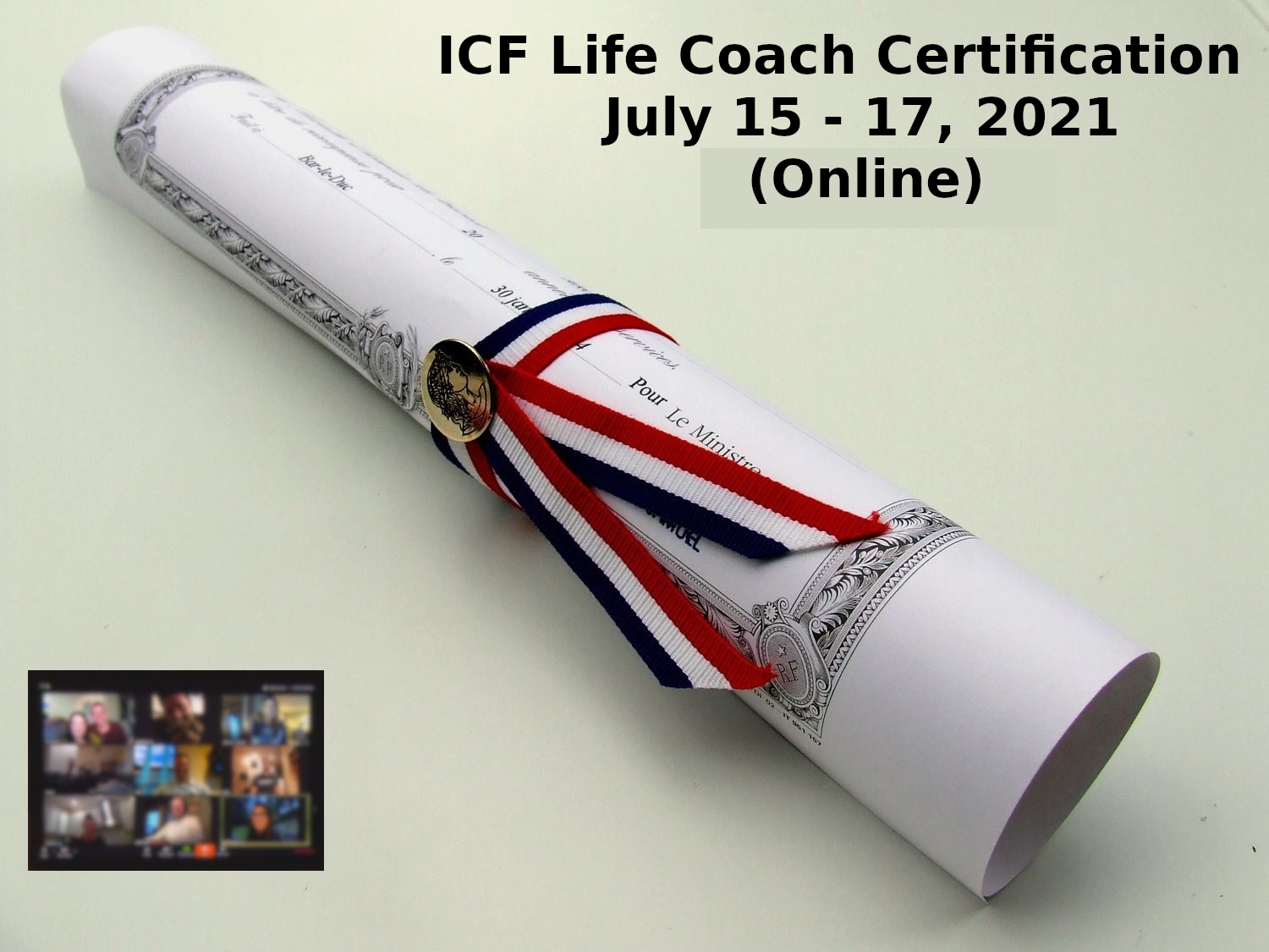 ICF Life Coach Certification July 15 17 2021 1