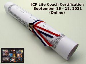 ICF Life Coach Certification September 16 18 2021 3