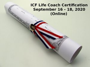 ICF Life Coach Certification September 16 18 2021
