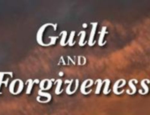 Life Coaching and Guilt and Forgiveness