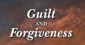 guilt Forgiveness